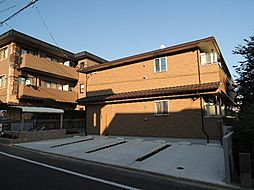 京都府京都市北区衣笠荒見町の賃貸アパートの外観