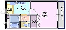 FINE145M[1階]の間取り