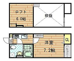 Miisa.1st(ミーサ・ファースト)[101号室]の間取り