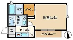(仮称)越谷市千間台東シャーメゾン 301[3階]の間取り