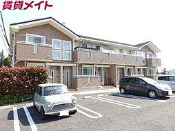 三重県亀山市小下町の賃貸アパートの外観