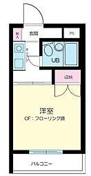 ハイタウン西蒲田[4号室]の間取り