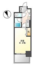 ヒルズ新栄2号館[9階]の間取り