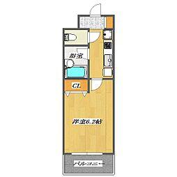 Palstage Nishikasai[4階]の間取り