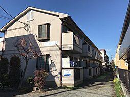 東京都調布市上石原1丁目の賃貸アパートの外観