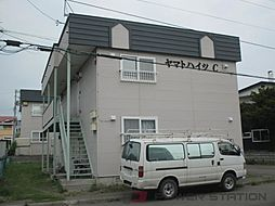 ヤマトハイツC[1階]の外観
