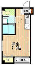 コウセイ御船[2階]の間取り