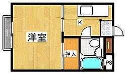 中島ビル[1階]の間取り