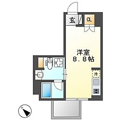 Comfort金山[5階]の間取り
