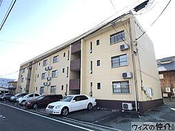 群馬県高崎市新後閑町の賃貸マンションの外観