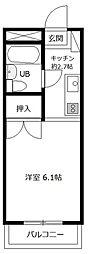 グランドホーム八王子[2階]の間取り