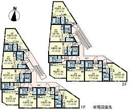 ユナイト根岸 ミランダの杜[1階]の間取り