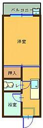 アイドルビル 103号室[103号室]の間取り