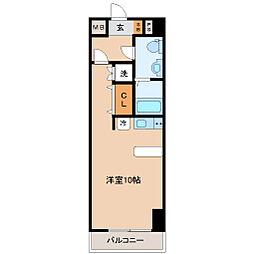 レジディア仙台本町[10階]の間取り