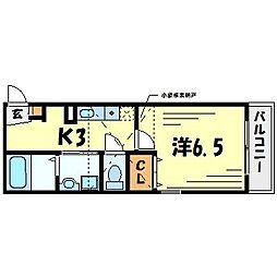 TRES7[2階]の間取り