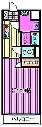 ピーノ・パラッツォ16[203号室]の間取り