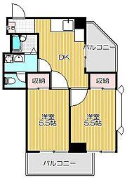 三橋ビル[2階]の間取り