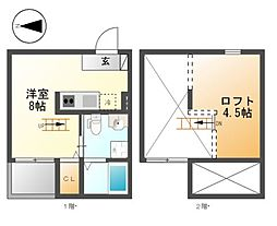 Felicita熱田(フェリシタ熱田)[2階]の間取り