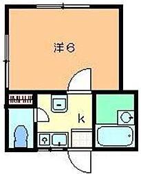 矢島方[2階]の間取り