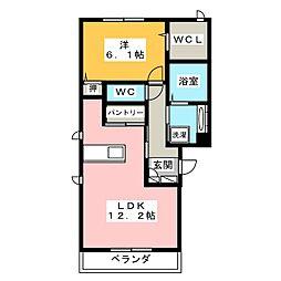 コンチェルトII[2階]の間取り