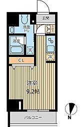 レオーネ大島Cube[0902号室]の間取り