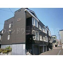 北海道札幌市豊平区平岸三条11丁目の賃貸アパートの外観