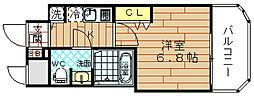 レグゼスタ福島2[1階]の間取り