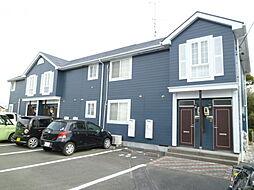 静岡県浜松市浜北区根堅の賃貸アパートの外観