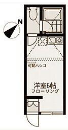 ユナイト東寺尾スタンフィールド[2階]の間取り