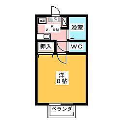 ル・マン[2階]の間取り