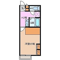 T&T1[1階]の間取り
