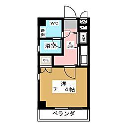 izumi[6階]の間取り