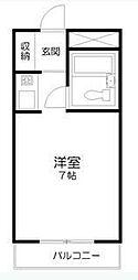 大築フェンウェイコート[3階]の間取り