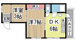 湊川公園駅 3.8万円