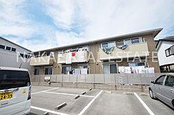 徳島県徳島市西新浜町2丁目の賃貸アパートの外観