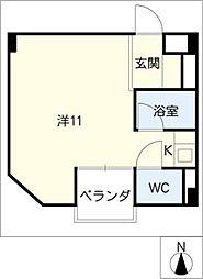 コートハウス[4階]の間取り