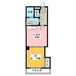 Dolce Gokiso[1階]の間取り
