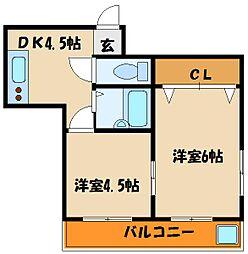 オーナーズマンション西明石[2階]の間取り