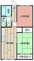 高浜ビル[403号室]の間取り