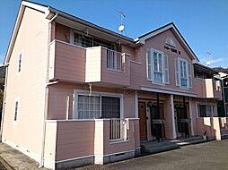 広島県広島市安佐北区亀山6丁目の賃貸アパートの外観