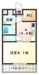 静岡県三島市松本の賃貸マンションの間取り