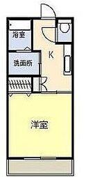 ぐらんしゅーるK[402号室]の間取り