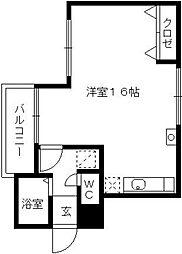 AOYAGI BLD[201号室]の間取り