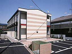 神奈川県相模原市緑区久保沢3の賃貸アパートの外観
