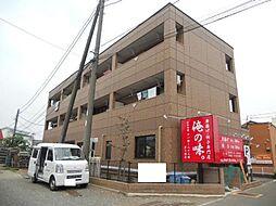 神奈川県茅ヶ崎市中島の賃貸マンションの外観