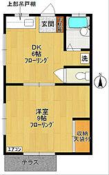 ハイツKAWASAKI[101号室]の間取り