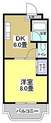 マンションエクシード[2階]の間取り