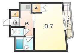 ラ・トゥール守口[2階]の間取り