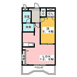 アートステージAI[2階]の間取り
