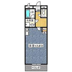 Annex Asai[302号室]の間取り